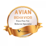 force free vet behavior badge